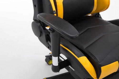Racing Bürostuhl Turbo mit Fußablage