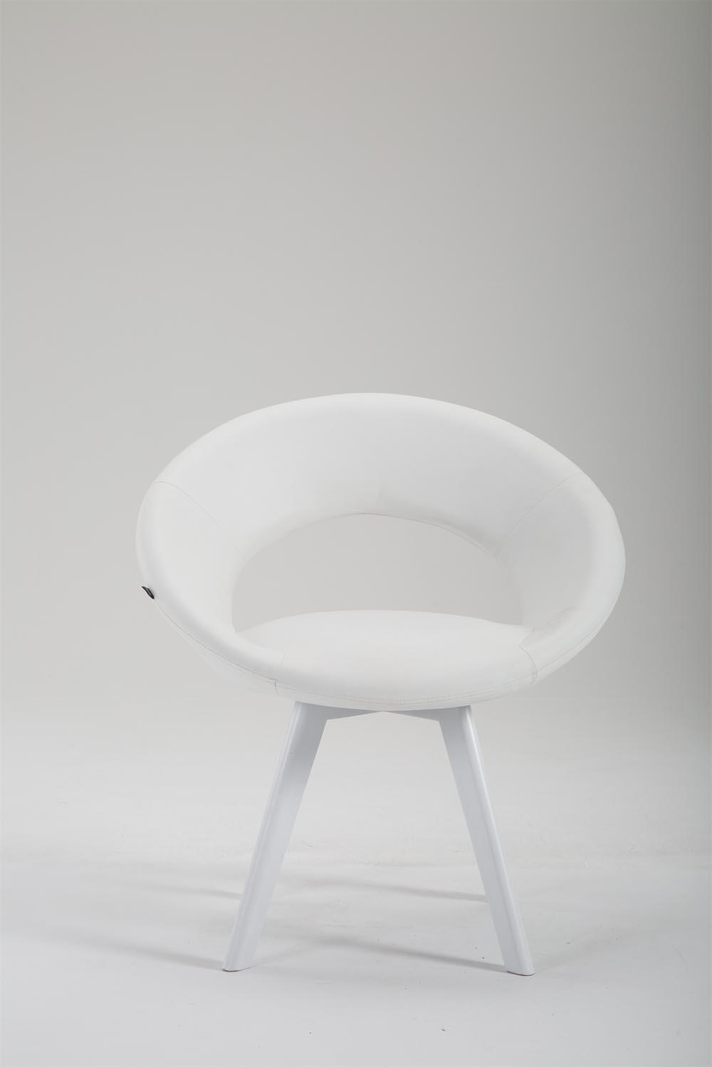 Stuhl Beck Kunstleder Weiß