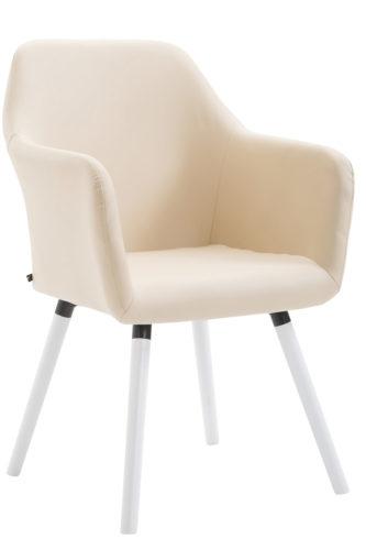 Stuhl Picard V2 Kunstleder Weiß