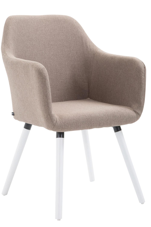 Stuhl Picard V2 Stoff Weiß