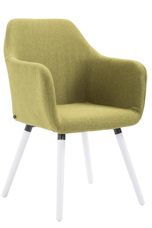 Stuhl Picard V2 Stoff weiß (eiche)