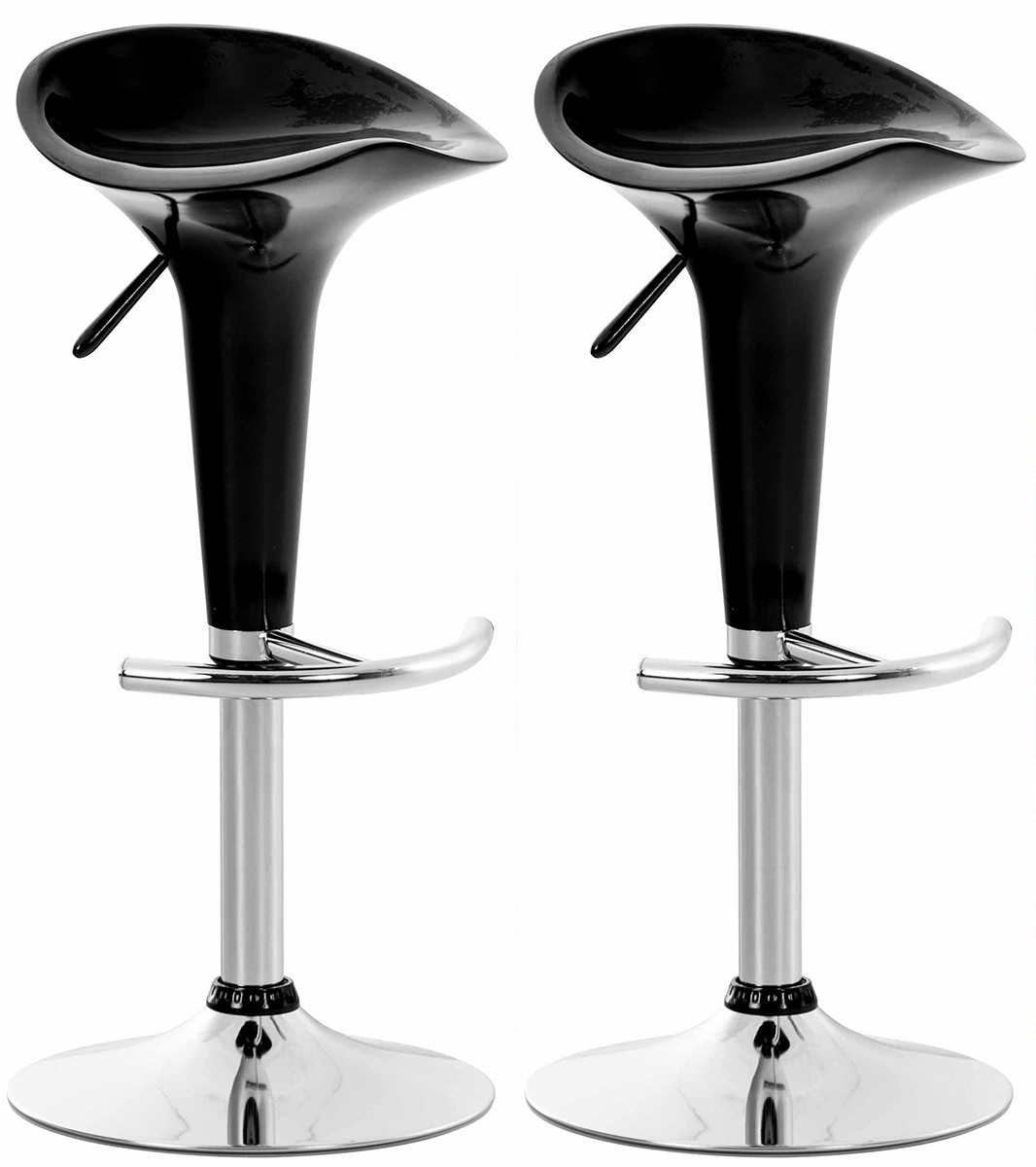 2er Set Barhocker Saddle